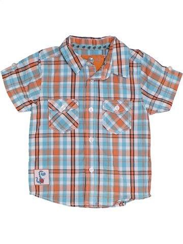 Chemise manches courtes garçon TU gris 2 ans été #1330949_1