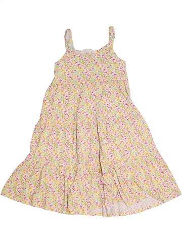 Robe fille H&M beige 8 ans été #1330986_1
