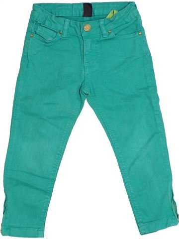 Pantalon fille ZARA vert 4 ans été #1331054_1
