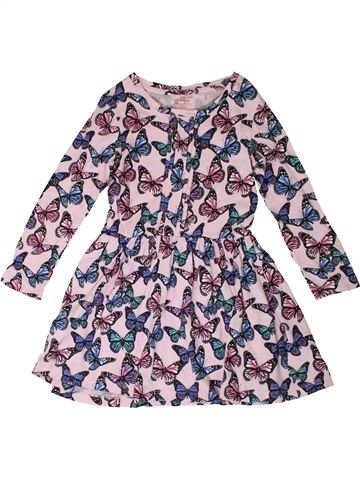 Robe fille BLUEZOO rose 7 ans hiver #1331125_1