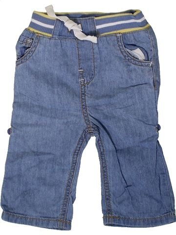 Pantalon garçon M&CO bleu 12 mois été #1331234_1