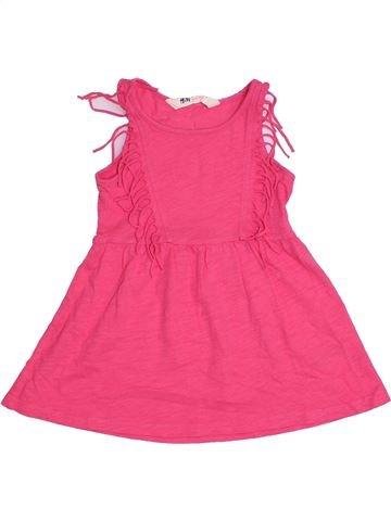 Robe fille H&M rose 2 ans été #1331242_1