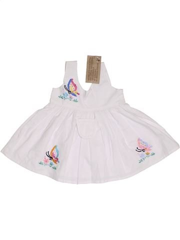 Robe fille NATURAL COTTON blanc 2 ans été #1331252_1
