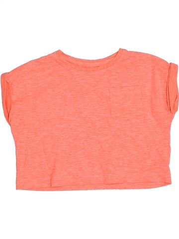 Camiseta de manga corta niña DUNNES STORES naranja 3 años verano #1331258_1