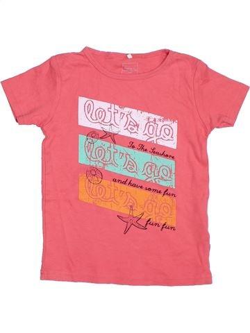 Camiseta de manga corta niña NAME IT rosa 8 años verano #1331393_1
