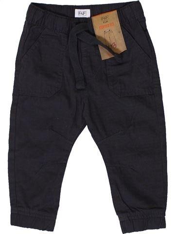 Pantalon garçon F&F bleu foncé 12 mois été #1331434_1