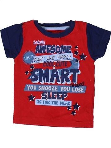 T-shirt manches courtes garçon TU bleu 12 mois été #1331472_1