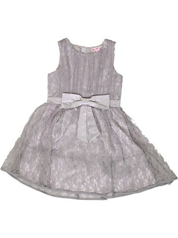 Robe fille LITTLE MISDRESS gris 8 ans été #1331533_1