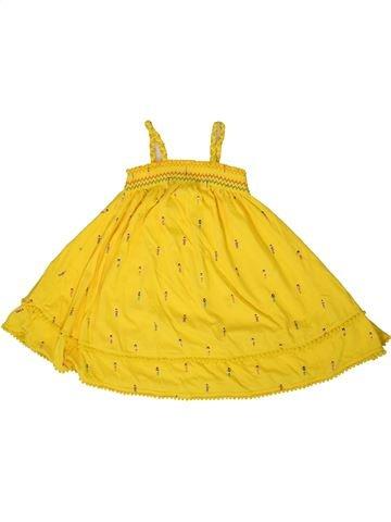 Robe fille MARKS & SPENCER jaune 3 ans été #1331548_1