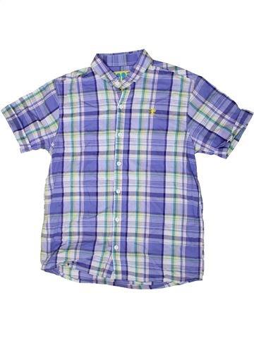 Chemise manches courtes garçon NEXT violet 11 ans été #1331578_1