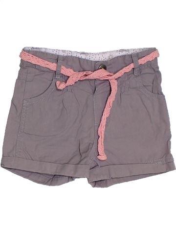Short - Bermuda fille 3 POMMES gris 2 ans été #1331605_1
