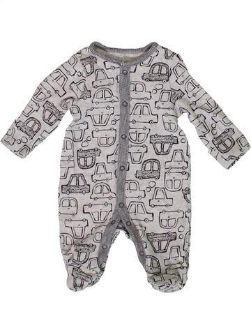 Pyjama 1 pièce garçon TU gris naissance été #1331609_1