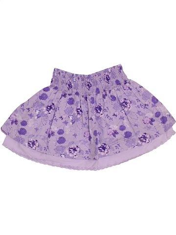 Jupe fille TOUT COMPTE FAIT violet 4 ans été #1331640_1