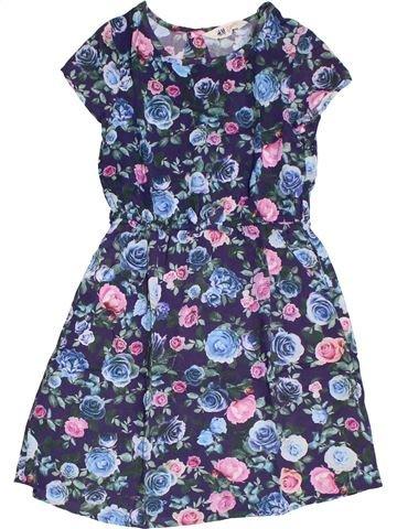 Robe fille H&M bleu 8 ans été #1331644_1