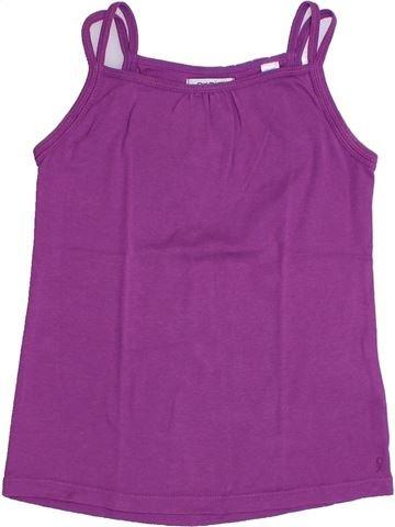 T-shirt sans manches fille OKAIDI violet 10 ans été #1331659_1