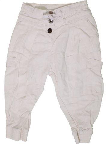 Pantalon fille NEXT blanc 7 ans été #1331662_1