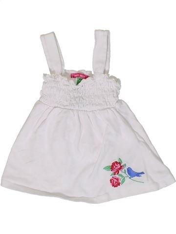 T-shirt sans manches fille HEMA blanc 2 ans été #1331707_1