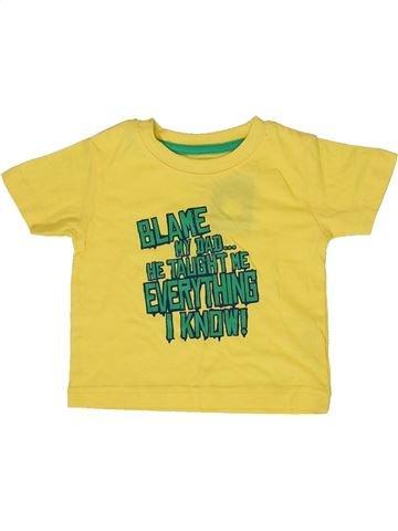 T-shirt manches courtes garçon PRIMARK jaune 12 mois été #1331711_1