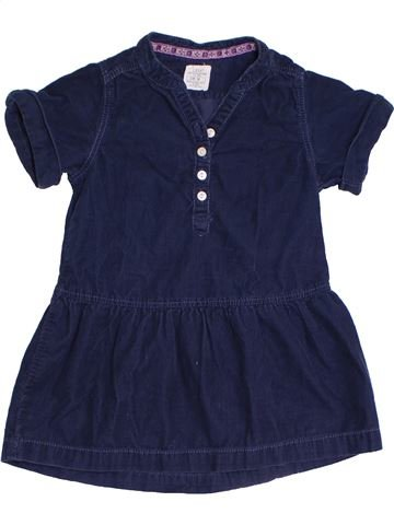Robe fille H&M bleu 4 ans hiver #1331759_1