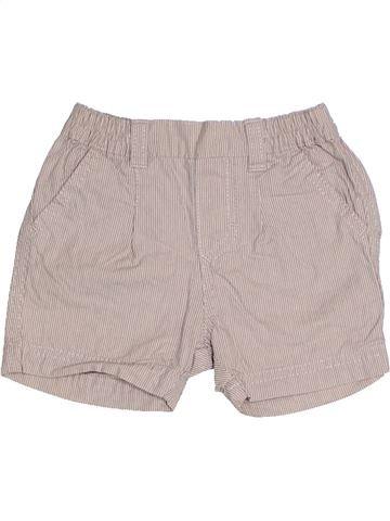 Short - Bermuda garçon P'TIT BISOU gris 6 mois été #1331761_1