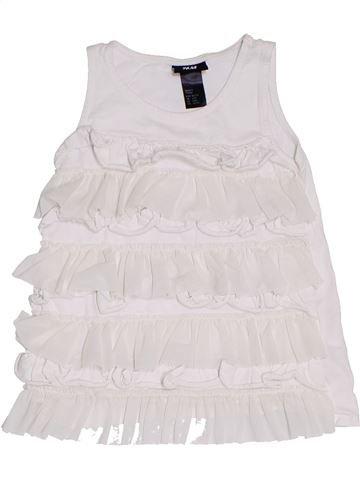 Tunique fille H&M blanc 4 ans été #1331776_1