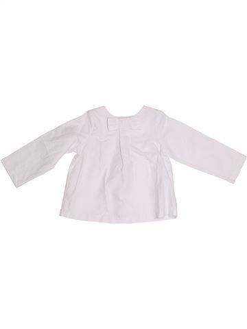Blouse manches longues fille JACADI blanc 3 ans hiver #1331784_1