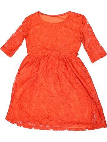 Robe fille DUNNES STORES orange 10 ans été #1331838_1