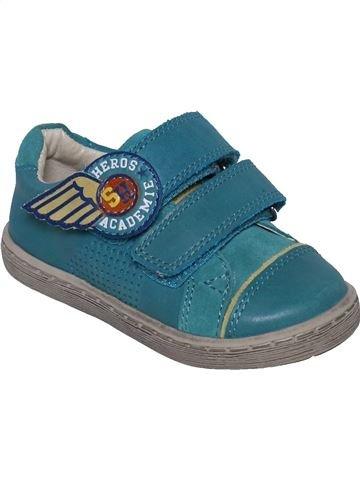 Zapatos con velcro niño DPAM azul 24 invierno #1331839_1