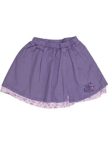 Jupe fille DISNEY violet 3 ans été #1331916_1