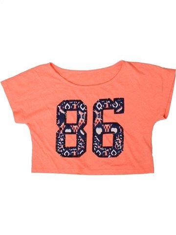 Camiseta de manga corta niña DEBENHAMS naranja 14 años verano #1332174_1