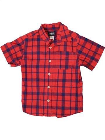 Chemise manches courtes garçon OSH KOCH B'GOSH rouge 3 ans été #1333011_1