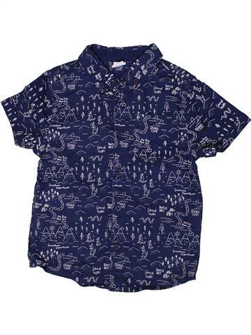 Chemise manches courtes garçon F&F bleu 7 ans été #1333264_1