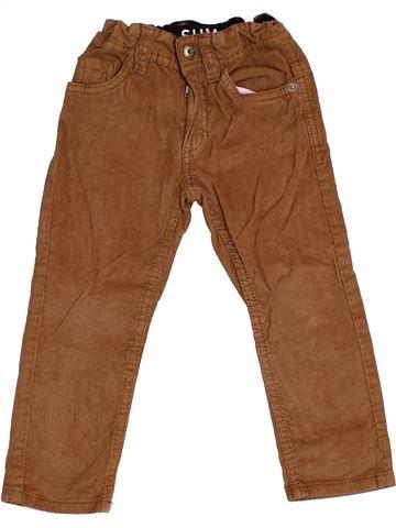 Pantalón niño TAPE À L'OEIL marrón 2 años invierno #1333459_1
