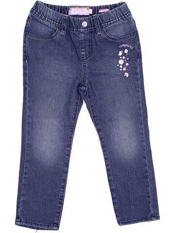 Pantalon fille COMPLICES bleu 4 ans été #1333535_1