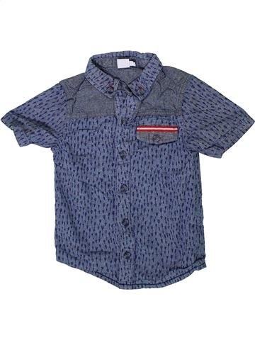 Camisa de manga corta niño MINI CLUB azul 5 años verano #1333573_1