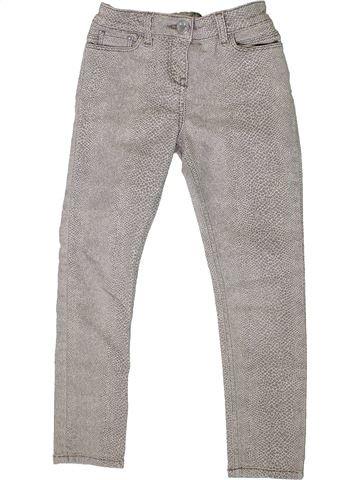 Pantalón niña RIVER ISLAND gris 8 años invierno #1333627_1