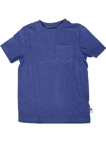 T-shirt manches courtes garçon F&F bleu 7 ans été #1333739_1