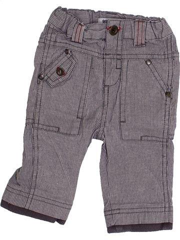 Pantalon garçon TAPE À L'OEIL violet 3 mois été #1334088_1