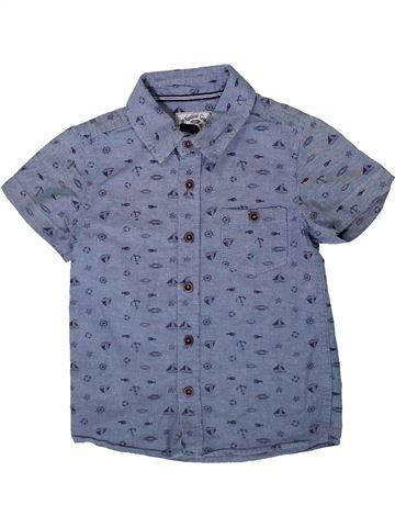 Chemise manches courtes garçon TU gris 5 ans été #1334098_1