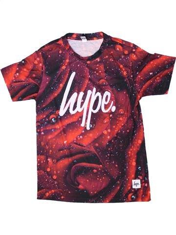 T-shirt manches courtes fille HYPE KIDS violet 13 ans été #1334194_1