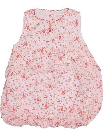 Robe fille OKAIDI blanc 6 mois été #1334373_1
