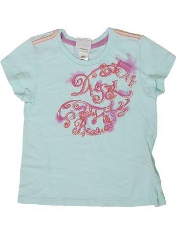 T-shirt manches courtes fille DIESEL gris 4 ans été #1334645_1