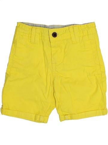 Short-Bermudas niño CYRILLUS amarillo 4 años verano #1334752_1