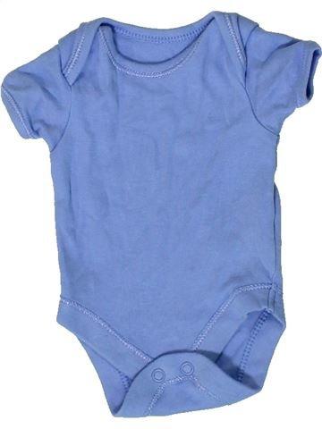 T-shirt manches courtes garçon GEORGE bleu prématuré été #1334757_1