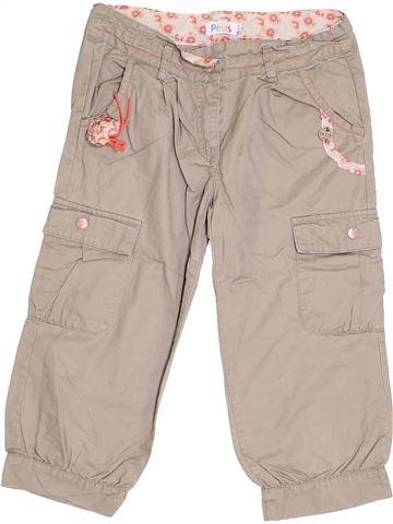 Pantalón corto niña LA COMPAGNIE DES PETITS beige 12 años verano #1334770_1