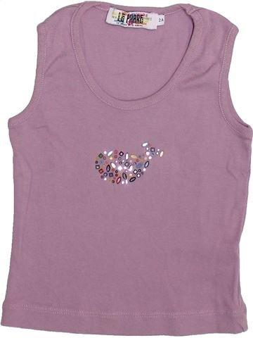 T-shirt sans manches fille LE PHARE DE LA BALEINE violet 2 ans été #1335034_1