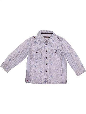 Camisa de manga larga niño JEAN BOURGET gris 3 años invierno #1335175_1