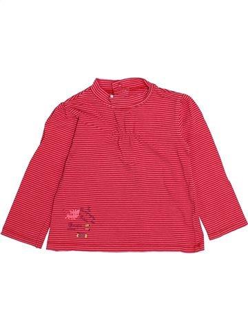 T-shirt manches longues fille LA COMPAGNIE DES PETITS rose 2 ans hiver #1335309_1