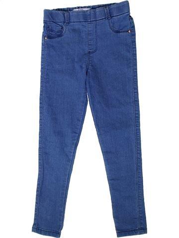Pantalon fille DUNNES STORES bleu 9 ans hiver #1335338_1