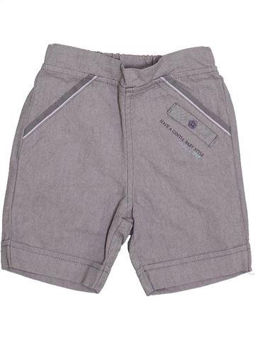 Short-Bermudas niño LES BEBES SONT COMME ÇA gris 6 meses verano #1335414_1
